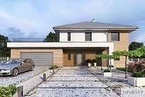 Projekty domów jednorodzinnych - Zobacz projekt - Carrara III