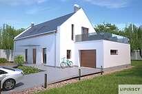 Projekty domów jednorodzinnych - Zobacz projekt - Bergamo IV