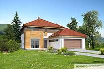 Projekty domów jednorodzinnych - Zobacz projekt - Przychylny