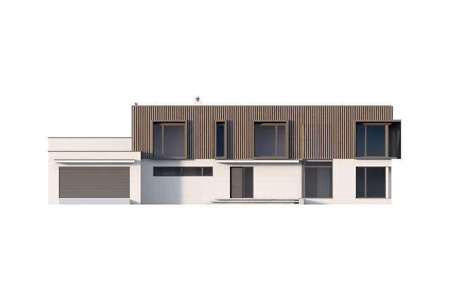 Zobacz powiększenie elewacji frontowej - projekt Annecy