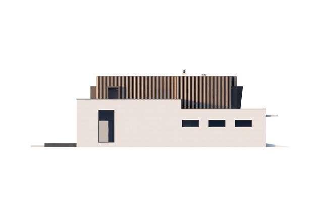 Zobacz powiększenie elewacji bocznej lewej - projekt Annecy