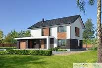 Projekty domów jednorodzinnych - Zobacz projekt - Przeznaczony
