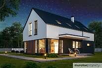 Projekty domów jednorodzinnych - Zobacz projekt - Oznaczony w.II