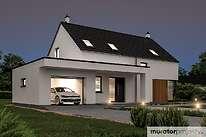 Projekty domów jednorodzinnych - Zobacz projekt - Oznaczony w.III