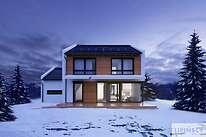 Projekty domów jednorodzinnych - Zobacz projekt - Skagen