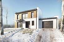 Projekty domów jednorodzinnych - Zobacz projekt - Skagen III