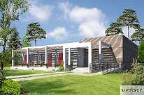 Projekty domów jednorodzinnych - Zobacz projekt - Budynek agroturystyczny Jesion