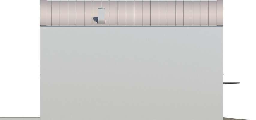 Elewacja boczna lewa - projekt Lakeland