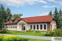 Projekty domów jednorodzinnych - Zobacz projekt - Budynek usługowy Puchacz