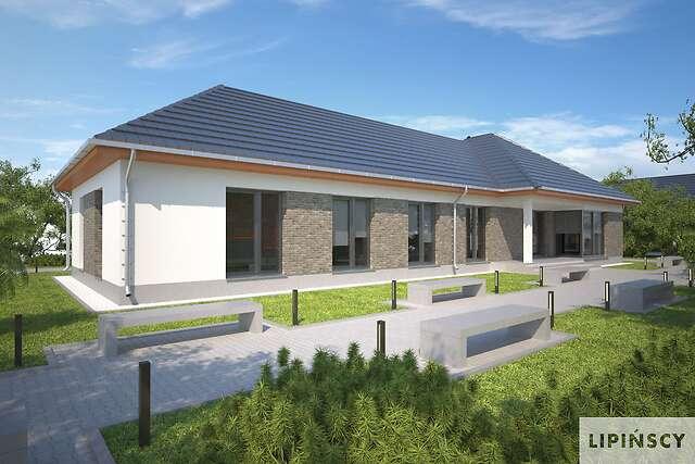 Zobacz powiększenie wizualizacji ogrodowej - projekt Budynek usługowy Office 1