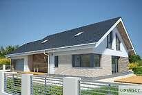 Projekty domów jednorodzinnych - Zobacz projekt - Pireus II Pasywny 3a