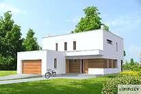 Projekty domów jednorodzinnych - Zobacz projekt - Tarent Pasywny 5