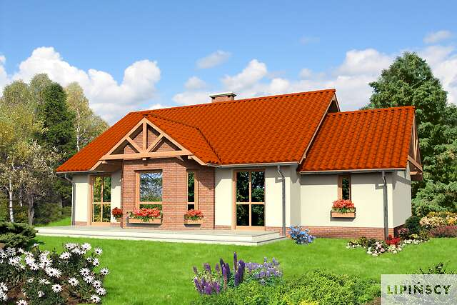 Zobacz powiększenie wizualizacji ogrodowej - projekt Lwów II
