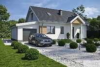 Projekty domów jednorodzinnych - Zobacz projekt - Tuluza VII