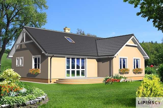Zobacz powiększenie wizualizacji ogrodowej - projekt Baden