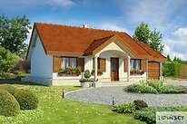 Projekty domów jednorodzinnych - Zobacz projekt - Sofia IV