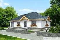 Projekty domów jednorodzinnych - Zobacz projekt - Urodziwy w.I