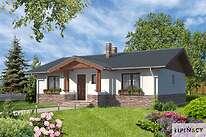 Projekty domów jednorodzinnych - Zobacz projekt - Aspen