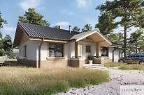 Projekty domów jednorodzinnych - Zobacz projekt - Aspen III
