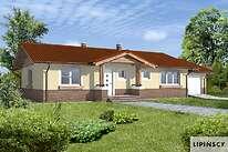 Projekty domów jednorodzinnych - Zobacz projekt - Aspen V