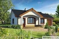 Projekty domów jednorodzinnych - Zobacz projekt - Filigranowy w.I