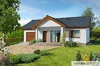 Projekty domów jednorodzinnych - Zobacz projekt - Filigranowy w.II