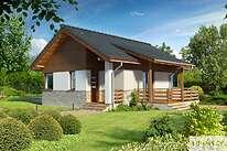 Projekty domów jednorodzinnych - Zobacz projekt - Lucca IV
