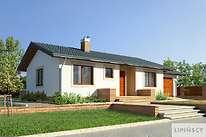 Projekty domów jednorodzinnych - Zobacz projekt - Oban II
