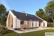 Projekty domów jednorodzinnych - Zobacz projekt - Franklin IV