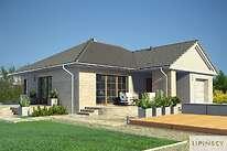 Projekty domów jednorodzinnych - Zobacz projekt - Lisse