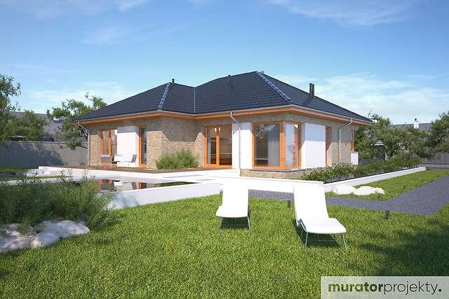 Zobacz powiększenie wizualizacji ogrodowej - projekt Uporządkowany