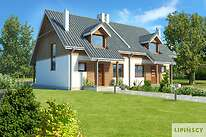 Projekty domów jednorodzinnych - Zobacz projekt - Fargo