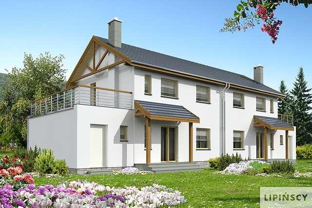 Zobacz powiększenie wizualizacji ogrodowej - projekt Glasgow II