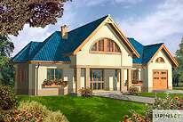 Projekty domów jednorodzinnych - Zobacz projekt - Las Vegas