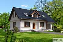 Projekty domów jednorodzinnych - Zobacz projekt - Bergen IV