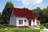 Projekty domów jednorodzinnych - Zobacz projekt - Brema