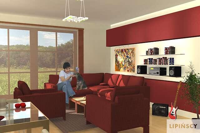 Zobacz powiększenie wizualizacji wnętrza - projekt Brema