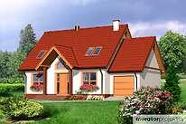 Projekty domów jednorodzinnych - Zobacz projekt - Ciekawy I