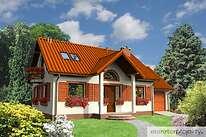 Projekty domów jednorodzinnych - Zobacz projekt - Ciekawy