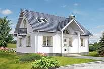 Projekty domów jednorodzinnych - Zobacz projekt - Ciekawy V