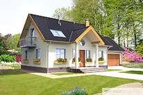 Projekty domów jednorodzinnych - Zobacz projekt - Ciekawy II