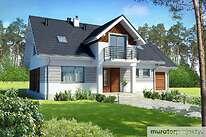 Projekty domów jednorodzinnych - Zobacz projekt - Trafny w.I