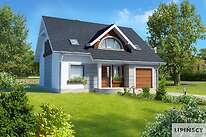 Projekty domów jednorodzinnych - Zobacz projekt - Gandawa