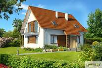 Projekty domów jednorodzinnych - Zobacz projekt - Miluza