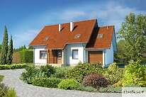 Projekty domów jednorodzinnych - Zobacz projekt - Miluza II