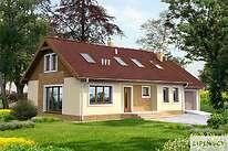 Projekty domów jednorodzinnych - Zobacz projekt - Salida II