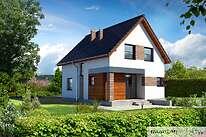 Projekty domów jednorodzinnych - Zobacz projekt - Galowy