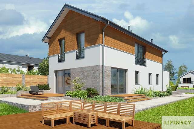 Zobacz powiększenie wizualizacji ogrodowej - projekt Brunico II