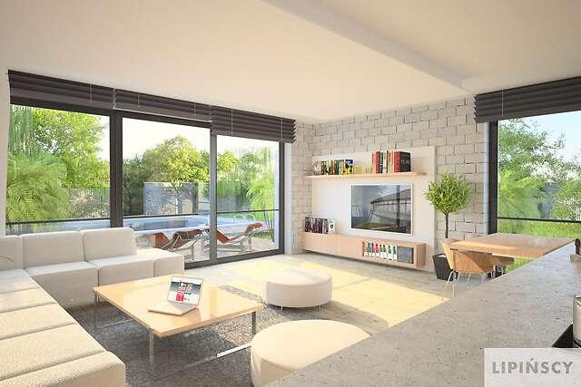 Zobacz powiększenie wizualizacji wnętrza - projekt Luton