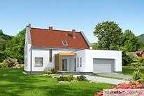Projekty domów jednorodzinnych - Zobacz projekt - Obecny